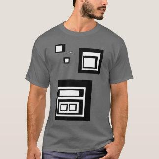 Black and White Squares T-Shirt