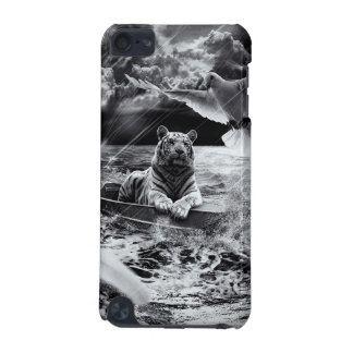 Black and White Tiger Boat Sailing Skylight iPod Touch 5G Cases