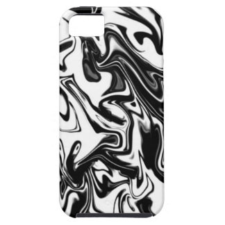 Black and White Tough iPhone 5 Case