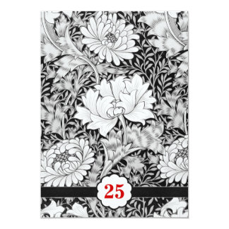black and white vintage anniversary card