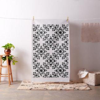 Black and White Vintage Damask Fabric