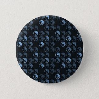 Black and White Yin Yang 6 Cm Round Badge