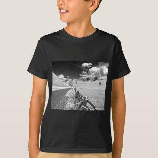 Black and white Yorkshire T-Shirt