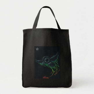Black as pitch canvas bags