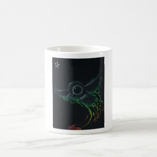 Black as pitch basic white mug