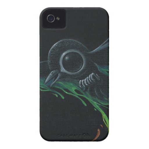 Black as pitch iPhone 4 cover