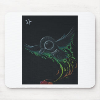 Black as pitch mouse pad