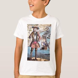 Black Bart Color Portrait T-Shirt