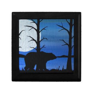 Black bear gift box