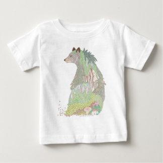 Black Bear Habitat Baby T-Shirt