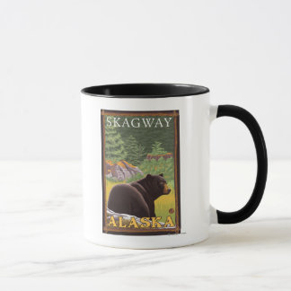 Black Bear in Forest - Skagway, Alaska Mug