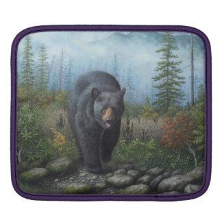 Black Bear iPad Sleeve
