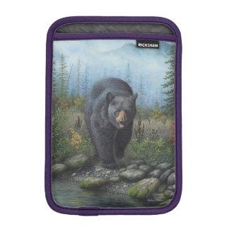 Black Bear Sleeve For iPad Mini
