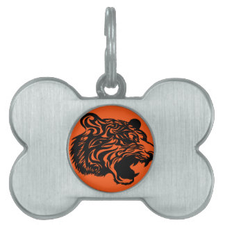 Black Bengal Pet Name Tag