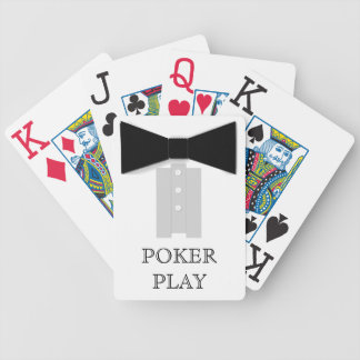 Black Bowtie Poker Play Bicycle Poker Deck