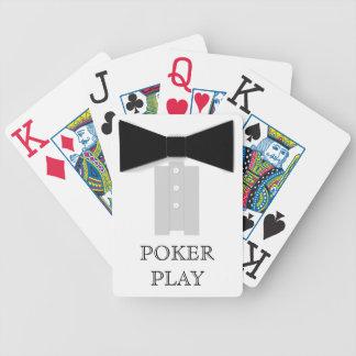 Black Bowtie Poker Play Card Decks