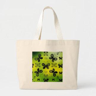 Black Butterfly Kisses Angel Graphic Design Bag