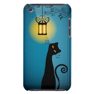 Black Cat  Barely There iPod Case