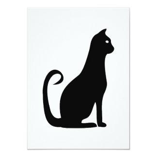 Black Cat Birthday Card