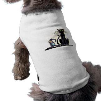 BLACK CAT & HAT by SHARON SHARPE Shirt
