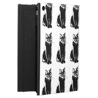 Black Cat Silhouette Case For iPad Air