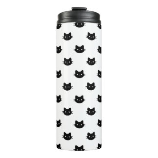 Black Cat Thermal Tumbler