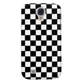 black check patterns galaxy s4 case