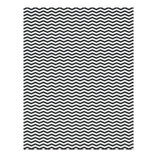 Black Chevron/Zig Zag Scrapbook Paper 21.5 Cm X 28 Cm Flyer