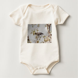 BLACK COCKATOO RURAL QUEENSLAND AUSTRALIA BABY BODYSUIT