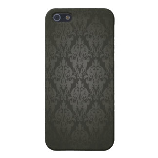 Black Damask Iphone5 case