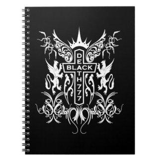 Black Death 777 - Cross Note Book