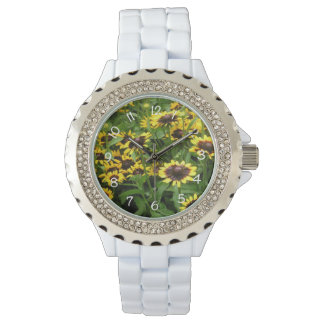 Black Eyed Susan Women's Floral Watch