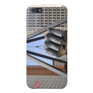 Black Fist Detroit iPhone 5/5S Case