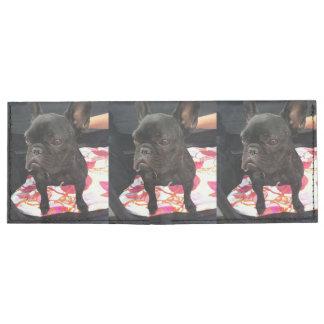 Black French Bulldog Tyvek Wallet