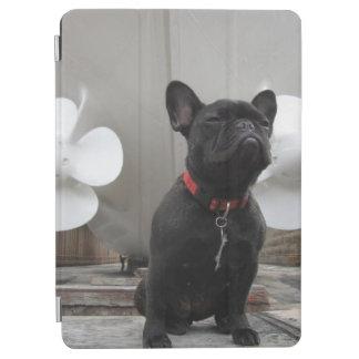 Black French Bulldog iPad Air Cover