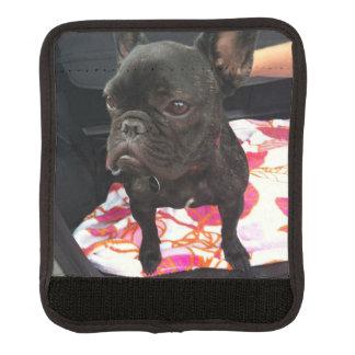Black French Bulldog Handle Wrap