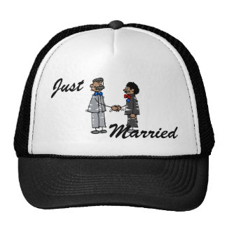 Black Gay Couple Cap