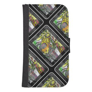 Black Giraffe IPhone Wallet Case
