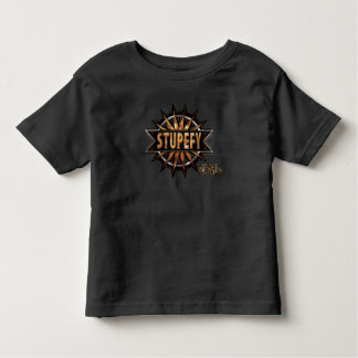 Black & Gold Stupefy Spell Graphic Toddler T-Shirt