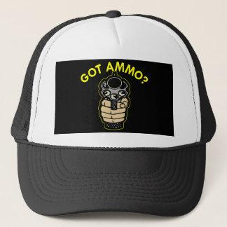Black Got Ammo Pistol Trucker Hat