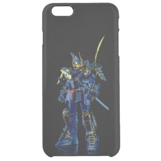 Black Gundam Uncommon iPhone 6 Plus Clearly™ Defle Clear iPhone 6 Plus Case