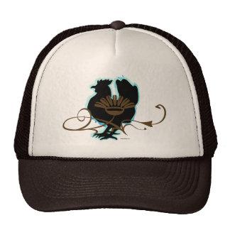 Black Hen Mesh Hat