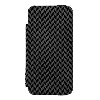 Black Herringbone iPhone 5 Wallet Case Incipio Watson™ iPhone 5 Wallet Case