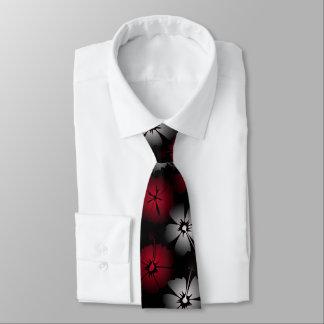 Black Hibiskus Tie
