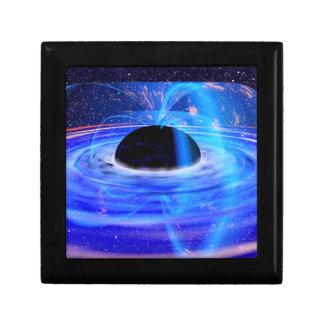 Black Hole Small Square Gift Box