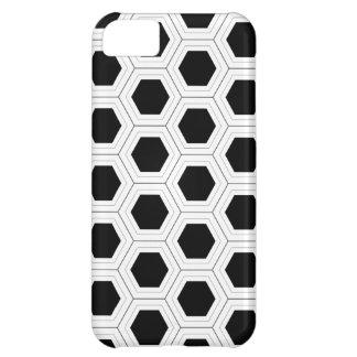 Black Honeycomb iPhone 5 Cover
