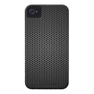 Black Honeycomb Pattern Case-Mate iPhone 4 Case