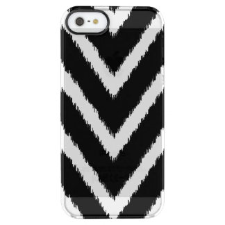 Black Ikat Chevron | Uncommon iPhone Case