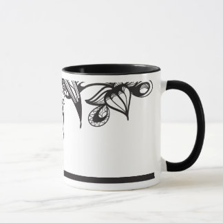Black Ink Fashion Mug