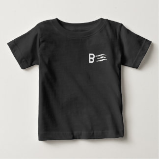 Black Japanese Streetwear Tee by BABY3